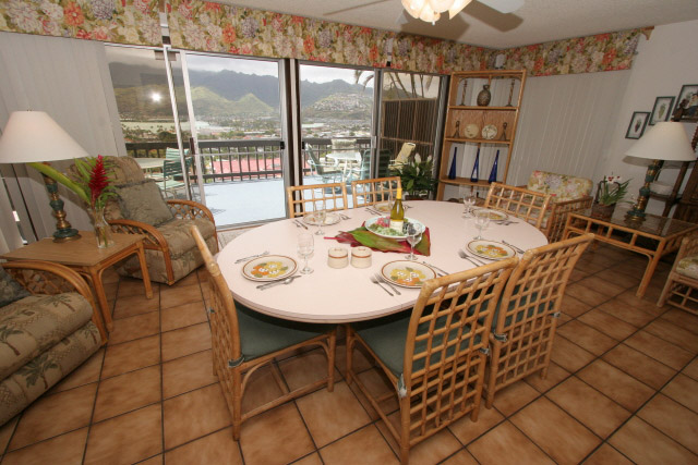 Dining Room of Honolulu vacation home