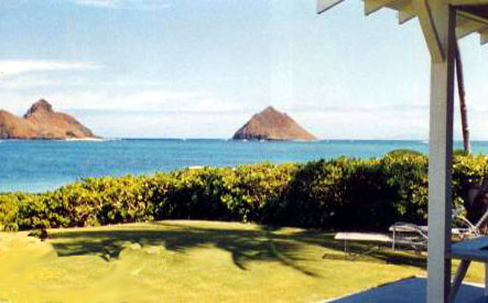 LANIKAI HALE BEACHFRONT - 4 Bedroom 4 Bath Lanikai Beachfront Vacation Rental