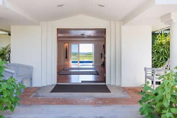Front Entryway View of Kailua Beachfront Vacation Home