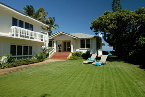 PLUMERIA HOUSE - 4 Bedroom 3 Bath Oahu Beachfront Vacation Rental
