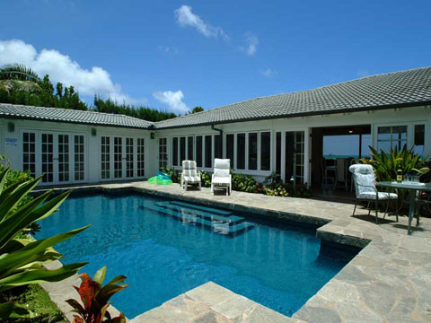 VILLA KAILUA - 6 Bedroom 5 Bath Oahu Vacation Rental