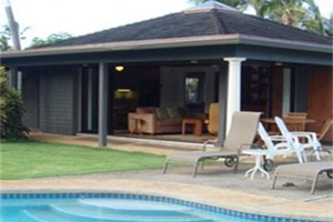 KAILUA PALMS ESTATE GUEST HOUSE - 2 Bedroom 2 Bath Vacation Rental