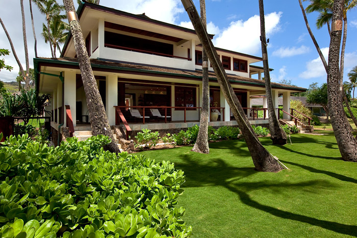 Laie Beach vacation home near North Shore, Oahu